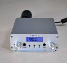 Transmissor Rádio Comunitária Fm 15w Completo com Antena