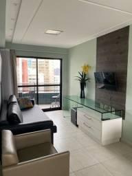 Alugo apartamento de 2 quartos mobiliado em boa viagem R$3.800