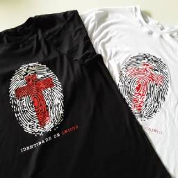 Camisa identidade de Cristo