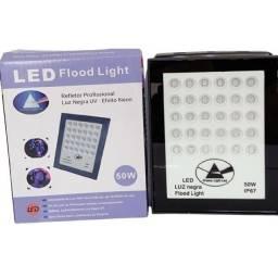 Refletor Holofote Luz Negra Neon 50w R$120 Eletrofox Rua Padre Belchior 307c