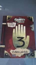 Livro O Diário Perdido Gravity Falls Disney