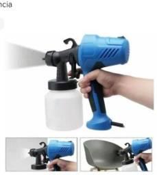 Pistola elétrica pulverizadora pintura compressor spray gun