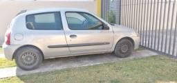 Título do anúncio: Renault Clio 2008 ( Troco apenas por carro  ou moto com Dívidas)carro de mulher.