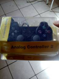 Controle PS2 novo aceito cartão