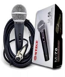 microfone microfone ms58