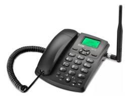 Telefone Rural Desbloqueado Gsm 100 Elgin Chip Celular Rádio