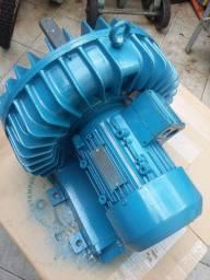 Compressor Radial 4 CV - Trifásico 220/380 Volts