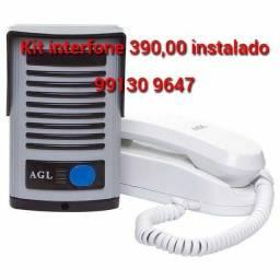 Título do anúncio: Interfone novos com garantia e instalado