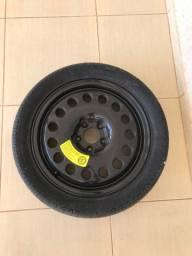 Pneu 205/50 R17 com roda de ferro