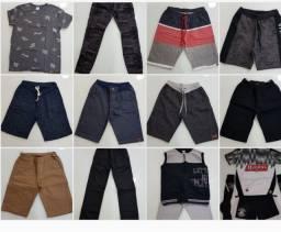 Lote roupas infantis masculina tam 14