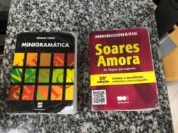Kit: Minigramática - Ernani Terra + mini Dicionário Ed. Saraiva