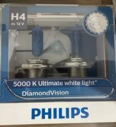 Título do anúncio: Lâmpada H4 Philips Diamond Vision