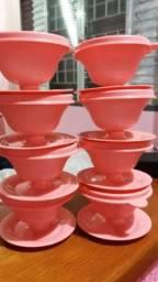 Kit de taças tupperware