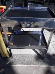 Mesa para corte de frango