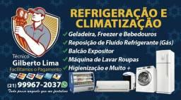 Conserto de geladeira e Ar condicionado / São João de Meriti