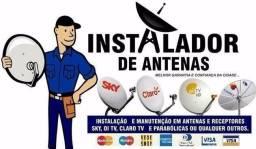 Técnico em instalações de antenas