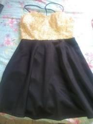 Lindo vestido paetê