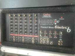 Amplificador completo com mesa