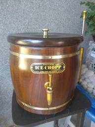 Chopeira artesanal barril