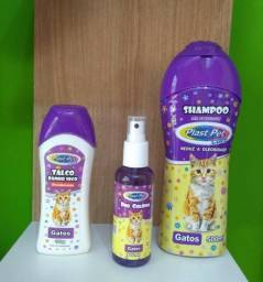 Shampoo + Perfume + Talco ?? seu gato ainda mais cheiroso
