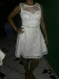 Vestido social branco