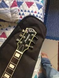 Guitarra Strimberg modelo Les Paul preta