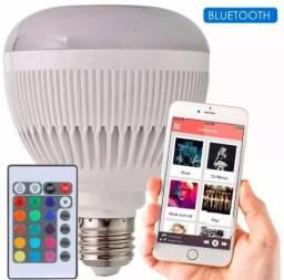 Lâmpada De Led Que Toca Musica Via Bluetooth - Comande a Festa na Sua Casa Fazemos Entrega