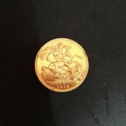 Moeda de ouro (Libra esterlina) 8 kg