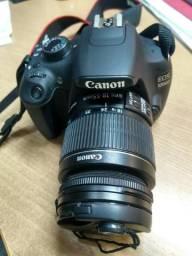 Camera digital EOS, canon 1200D, 18 - 55 mm, 18 megapixels, Cartao 8 gb