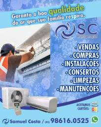 Temperatura ideal manutenção e instalação de ar condicionado