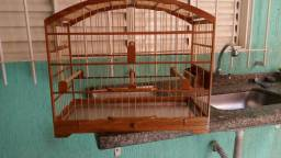 2 gaiolas de trinca ferro, troco ou vendo