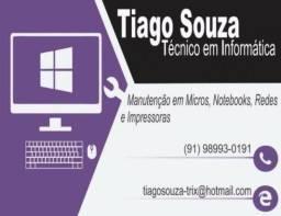 Técnico Em Informática (Atendimento em Domicílio)