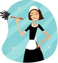 Me ofereço para trabalhar como diarista ou empregada doméstica