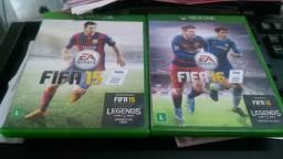 Fifa 15 e 16 (troco) xbox one