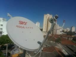 Antenista sky claro oitv (2 antenas)