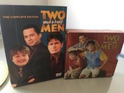 Box Two and a Half Men (Dois homens e meio) - 1°-7° temporadas - Nunca usado