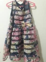 Vestido da helloy kity 4/5 anos