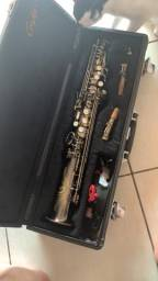 Saxofone soprano reto troca