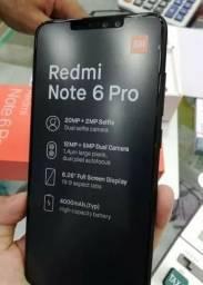 Celular Xiaomi Note 6 Pro 32gb/3gb Preto+capa Novo!!