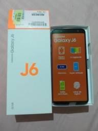 Galaxy j6 com 4 meses de uso