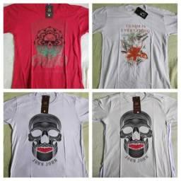 Kit 8 camisetas gg masculinas