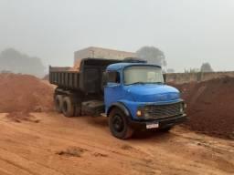 Caçamba truck com reduzida
