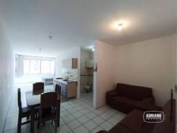Kitnet com 1 dormitório para alugar, 44 m² por R$ 950,00/mês - Kobrasol - São José/SC