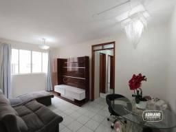 Apartamento com 2 dormitórios para alugar, 48 m² por R$ 1.200,00/mês - Jardim Atlântico -