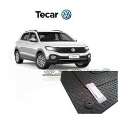 Jogo De Tapete T-cross Borracha Original Volkswagen