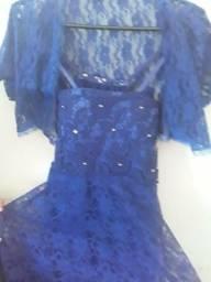 Vendo vestido com coletinho renda