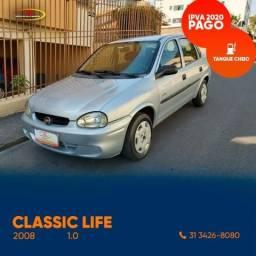 Classic Life 1.0 8v Flex - 2008