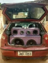 Vendo carro Fiat palio com som incluido - 1997