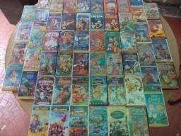 Fita Vhs Disney Original - Valor para 1 Fita - Para descontos Ler Descriçao do Anuncio