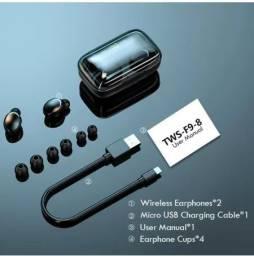 Fone sem fio bluetooth 5.0 Novo na caixa